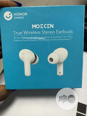 Honor Choice Moecen True Wireless Stereo Earbuds - White | Headphones for sale in Lagos State, Ikeja