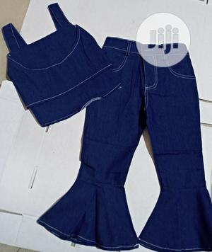 Shredded Crop Top and Jean | Children's Clothing for sale in Lagos State, Surulere