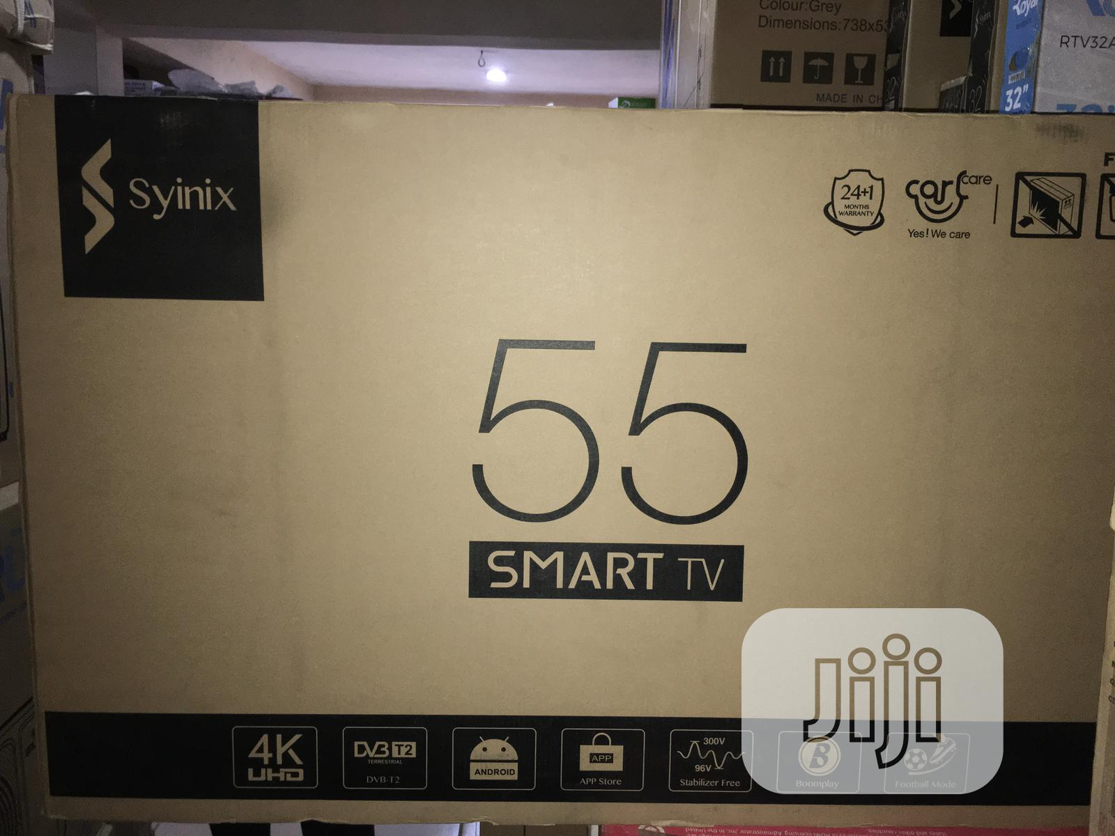 Synix Smart Tv 55 Inches