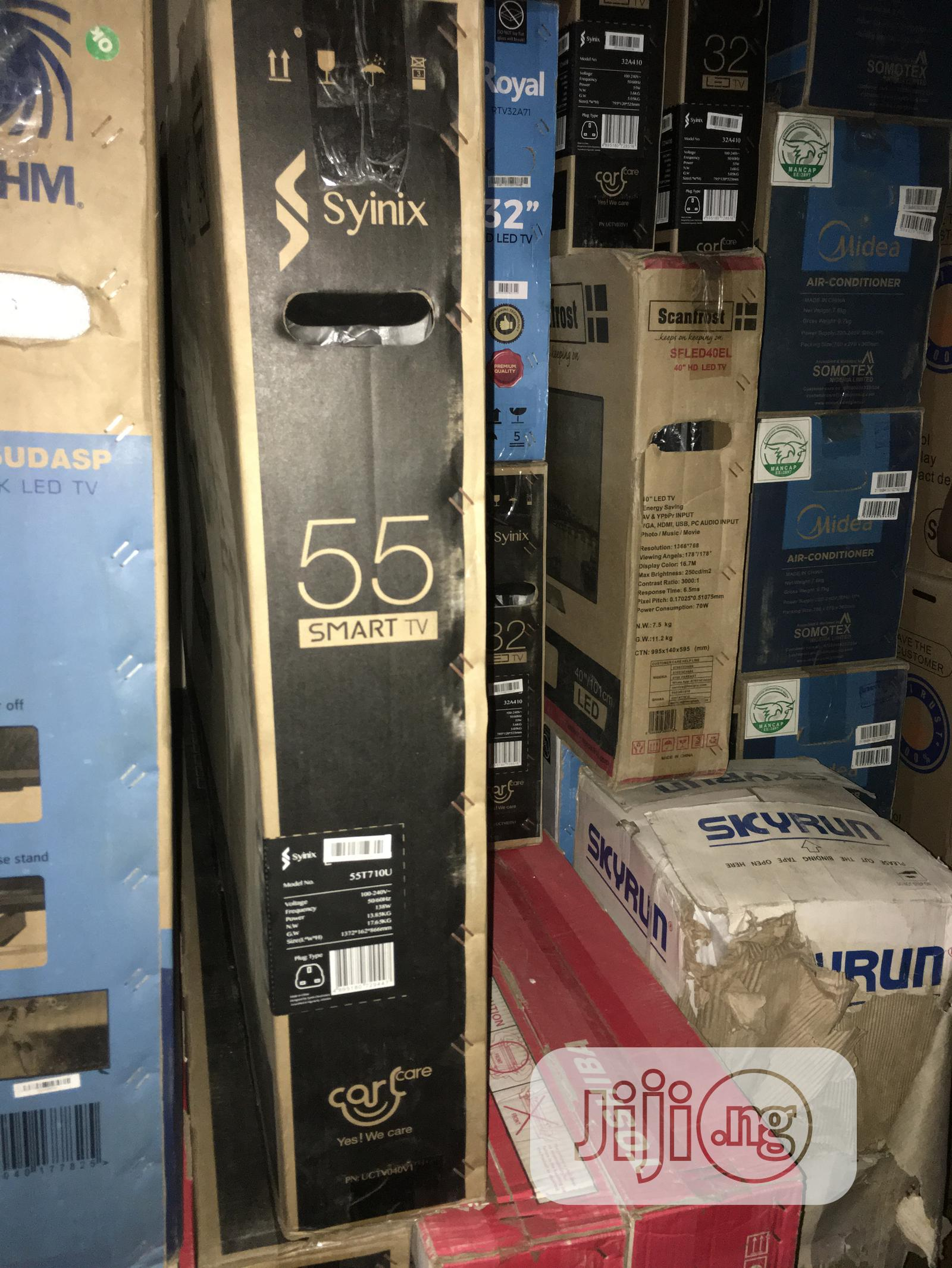 Synix Smart Tv 55 Inches | TV & DVD Equipment for sale in Kado, Abuja (FCT) State, Nigeria
