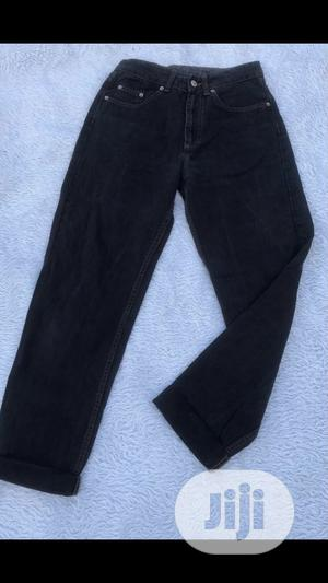 Black Corduroy High Waisted Mom Jeans | Clothing for sale in Lagos State, Lekki
