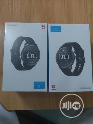 Haylou Solar Smart Watch 45mm Water Resistant   Smart Watches & Trackers for sale in Lagos State, Ikeja