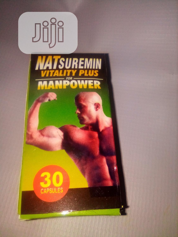 Natsuremin Vitality PLUS Man Power
