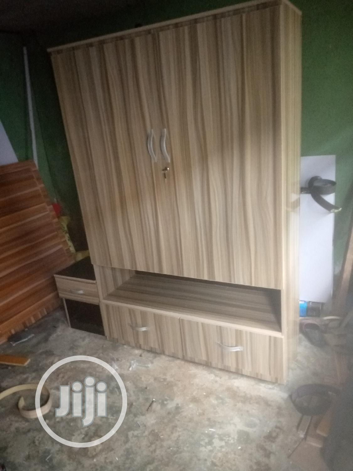 Standard Mbf Titles Wardrobe | Furniture for sale in Udu, Delta State, Nigeria