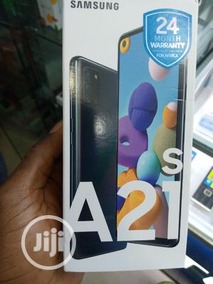 New Samsung Galaxy A21s 64 GB Black | Mobile Phones for sale in Lagos State, Ikeja