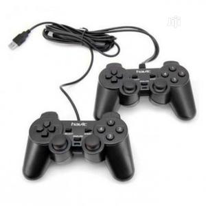 Havit Usb Double Gamepad With Vibration   Accessories & Supplies for Electronics for sale in Lagos State, Ikeja