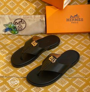 Hermes Leather Slippers   Shoes for sale in Lagos State, Isolo