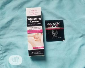 Whitening Cream for Sensitive Areas With Black Head Remover | Skin Care for sale in Lagos State, Ikotun/Igando