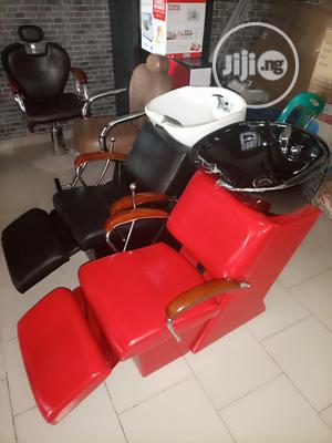 Salon Chairs With Washing Bazin   Salon Equipment for sale in Lagos State, Ojo