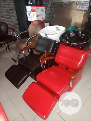 Italian Executive Salon Chairs With Washing Bazin   Furniture for sale in Lagos State, Ajah