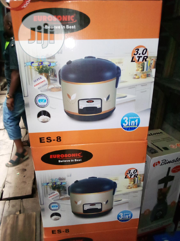 Eurosonic Rice Cooker 3.0l
