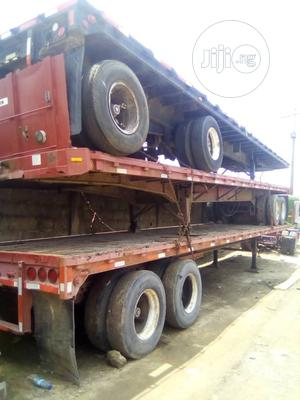 40 Feet Trailer Flat Body American Use With Axial Forsale   Trucks & Trailers for sale in Lagos State, Amuwo-Odofin