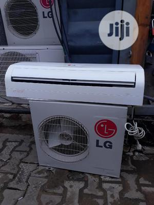 Clean U.K Used 1hp Split Unit A.C With 1year Warranty Sign | Home Appliances for sale in Lagos State, Ojo