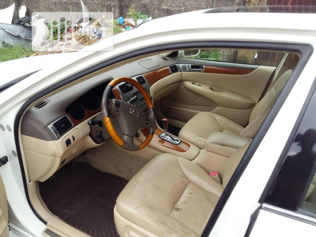 Lexus ES 2005 330 White | Cars for sale in Ikeja, Lagos State, Nigeria