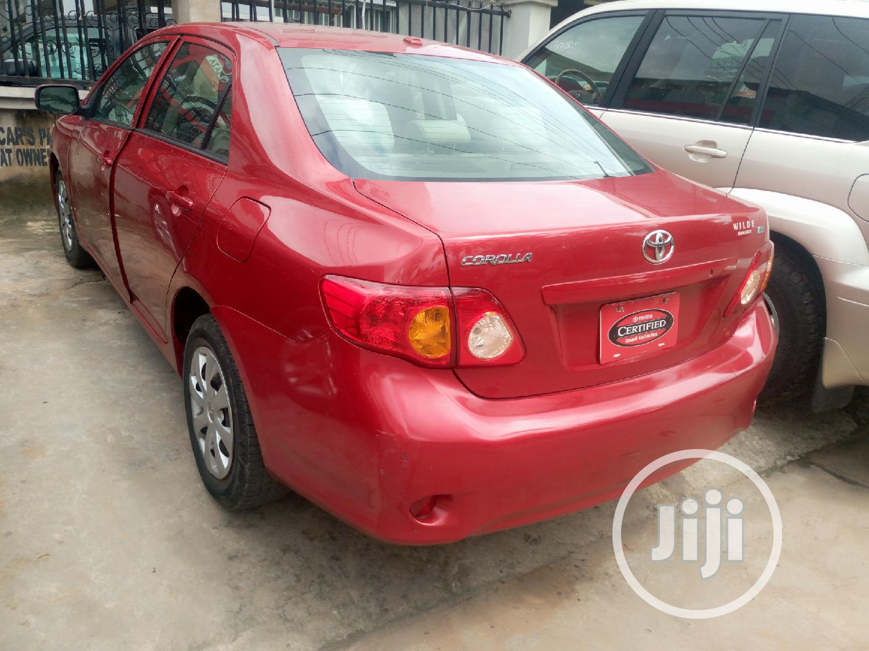 Toyota Corolla 2010 Red   Cars for sale in Ikeja, Lagos State, Nigeria