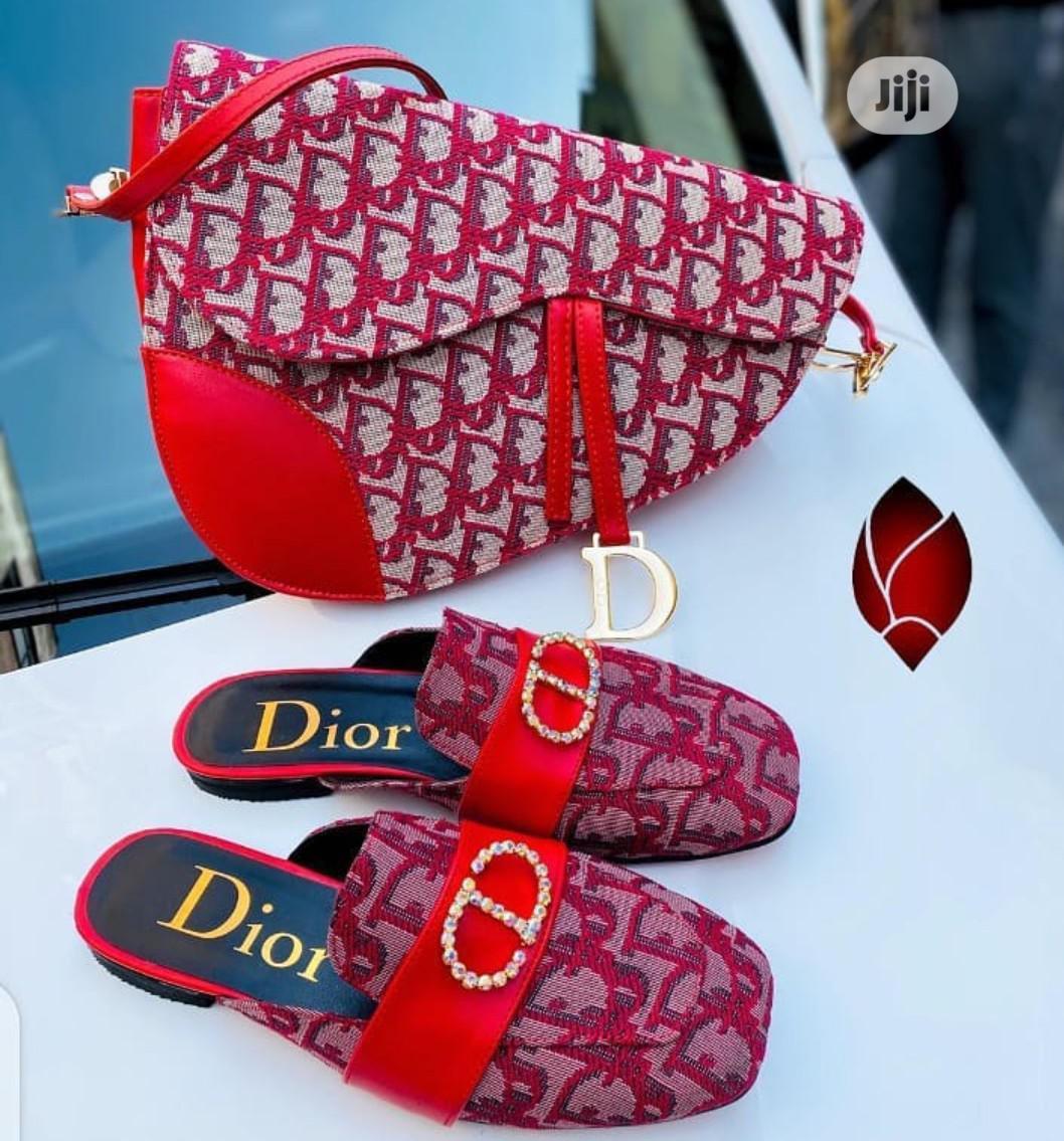 Archive: Dior Ladies Handbag With Flat Half Shoe