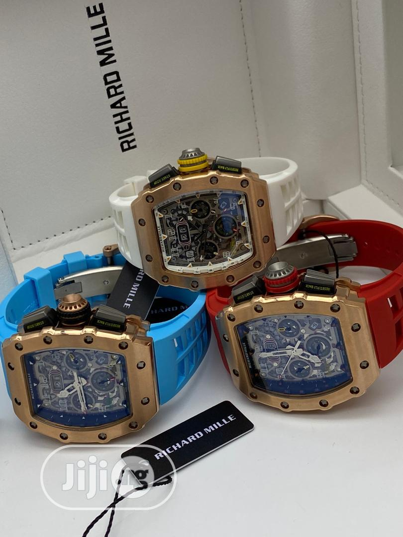 High Quality Hublot Rubber Strap Watch | Watches for sale in Magodo, Lagos State, Nigeria