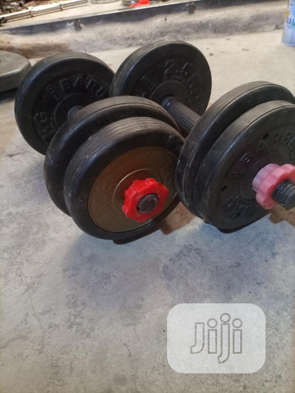 Coated Steel Weight Dumbells