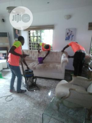 Washing and Vaccum of Chairs | Cleaning Services for sale in Lagos State, Kosofe