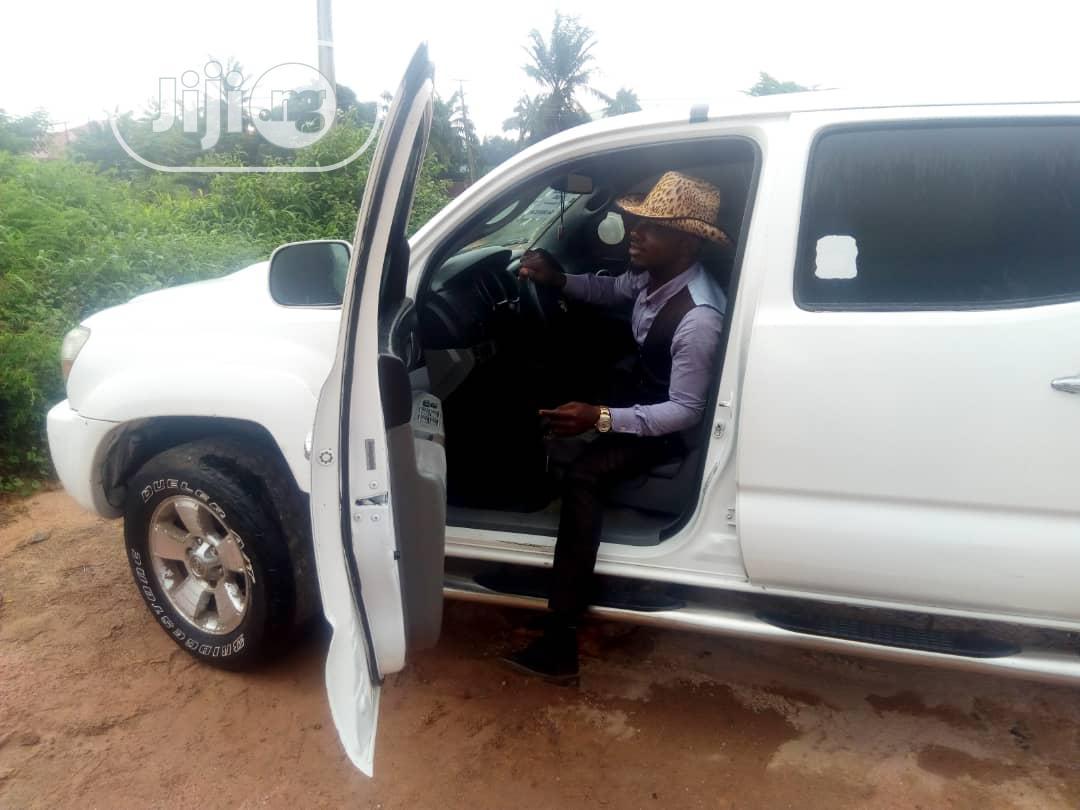 Toyota Tacoma 2008 4x4 Access Cab White   Cars for sale in Benin City, Edo State, Nigeria