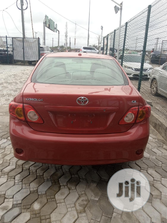 Toyota Corolla 2009 Red | Cars for sale in Ibeju, Lagos State, Nigeria