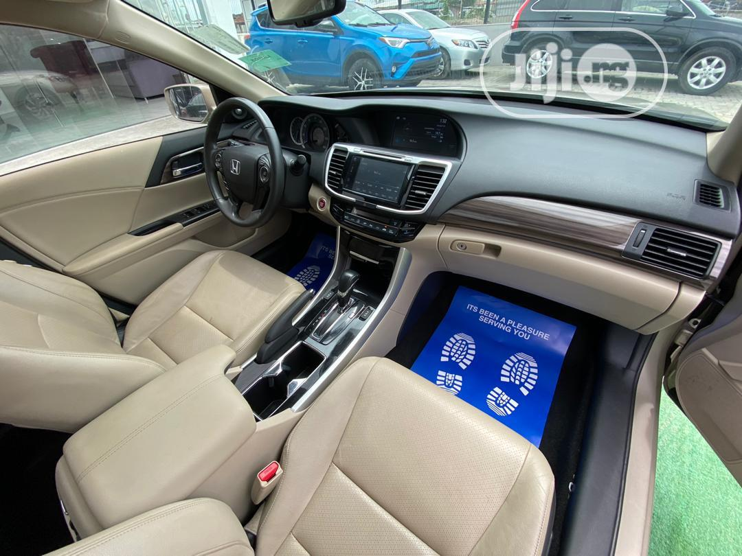 Honda Accord 2016 Gold | Cars for sale in Lekki, Lagos State, Nigeria