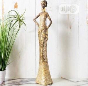 Golden Masai African Lady Sculpture | Arts & Crafts for sale in Lagos State, Lekki