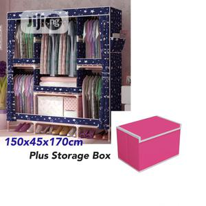 Mobile Wooden Wardrobe With Storage Box   Furniture for sale in Lagos State, Ikeja
