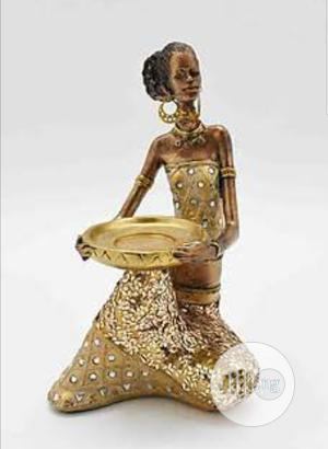 Gold Masai African Woman Sculpture | Arts & Crafts for sale in Lagos State, Lekki