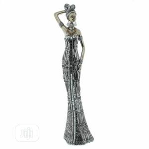 African Masai Lady Silver Effect Sculpture | Arts & Crafts for sale in Lagos State, Lekki