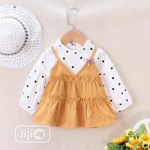 Conduroy Sling Velvet Dress | Children's Clothing for sale in Lagos State, Ojo