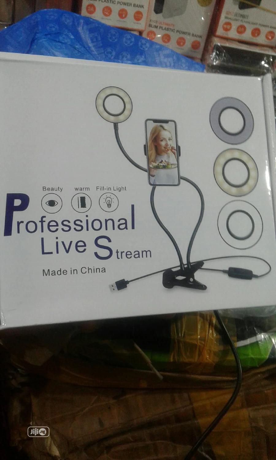 Archive: Professional Live Stream Ring Light