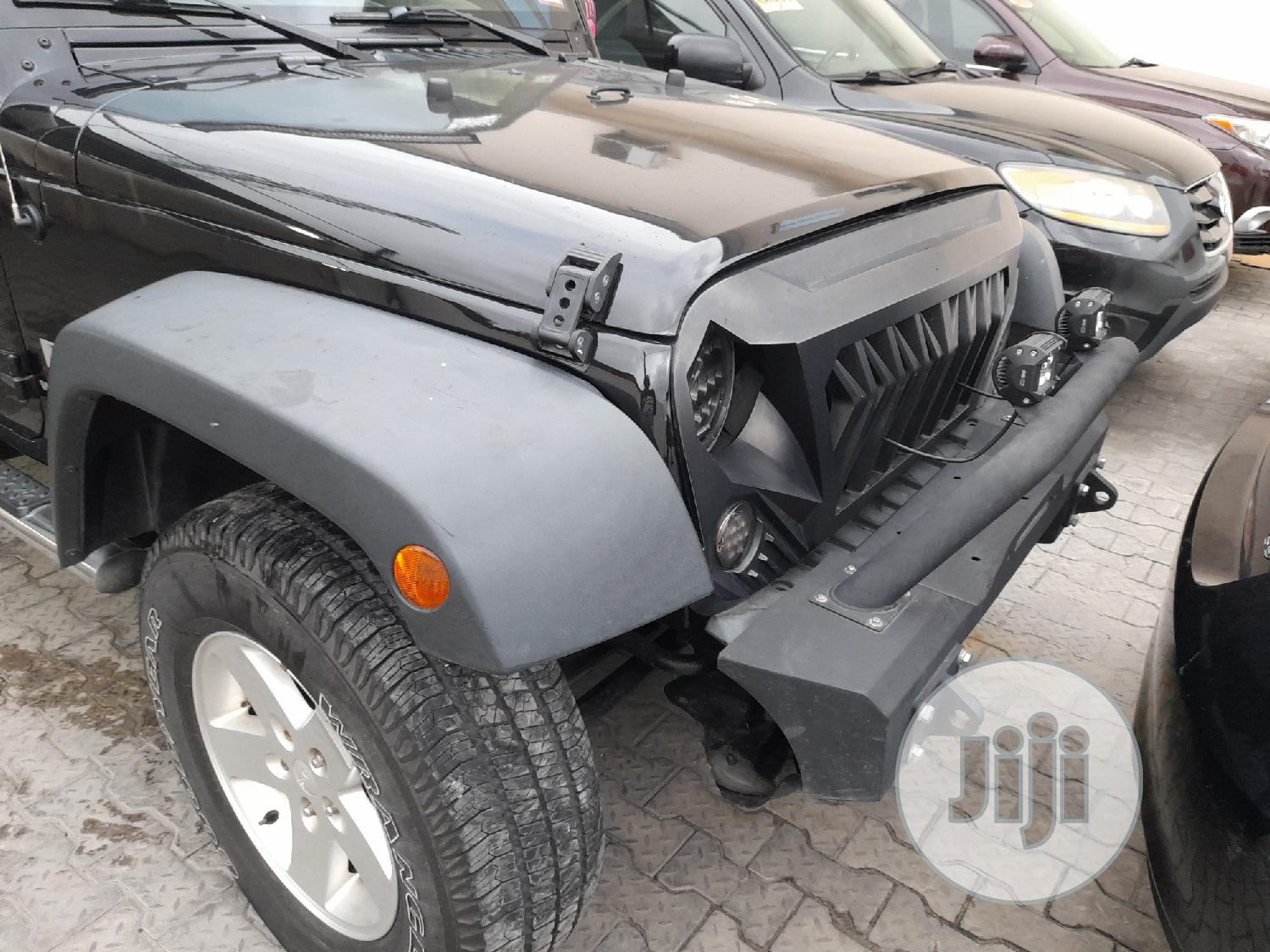 Jeep Wrangler 2007 3.8 Sahara Black | Cars for sale in Lekki, Lagos State, Nigeria