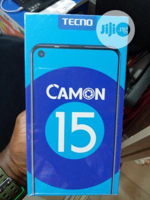 New Tecno Camon 15 64 GB Black   Mobile Phones for sale in Lagos State, Ikeja