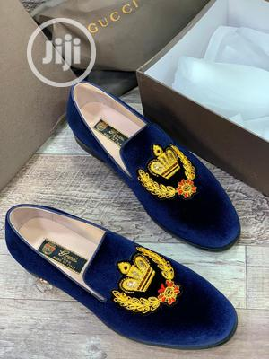 Gucci Leather Suede Shoe for Men's | Shoes for sale in Lagos State, Lagos Island (Eko)