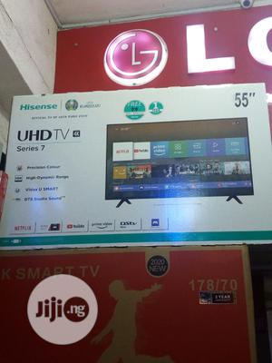 Hisense Television 55inch | TV & DVD Equipment for sale in Lagos State, Ojo