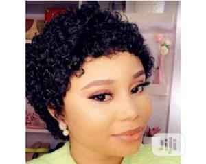 Beautiful Jerry Curl Wig   Hair Beauty for sale in Lagos State, Ojodu