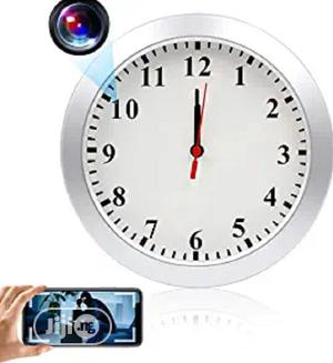 Wifi Home Hidden Camera Wall Clock | Security & Surveillance for sale in Lagos State, Ikeja