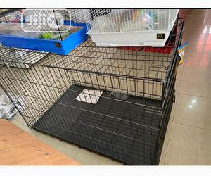 Large Collapsible Dog Cage | Pet's Accessories for sale in Lagos State, Ifako-Ijaiye