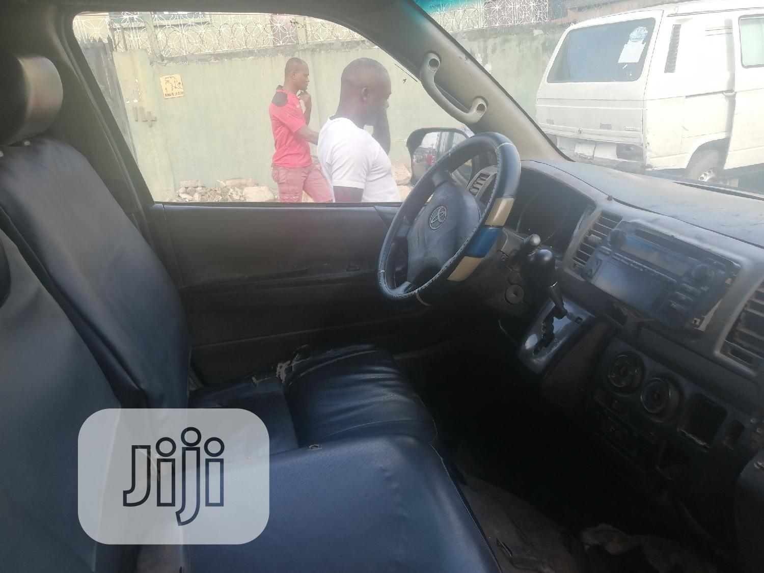 Toyota Haice 2008 Gray | Buses & Microbuses for sale in Apapa, Lagos State, Nigeria