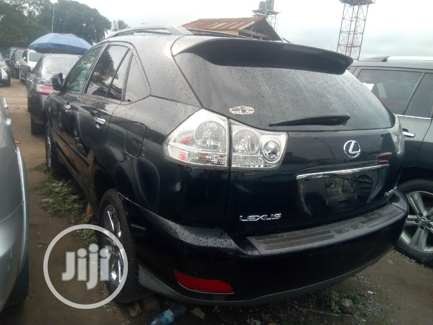 Archive: Lexus RX 2009 Black