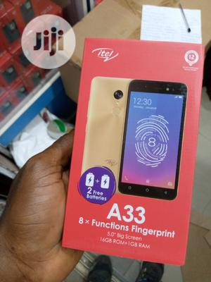 New Itel A33 16 GB Black | Mobile Phones for sale in Lagos State, Ikeja