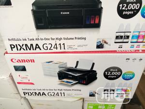 CANON Pixma G2411 All In One Printer | Printers & Scanners for sale in Rivers State, Port-Harcourt