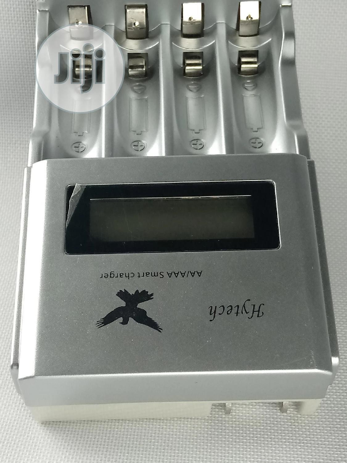 Hytech AA Battery Fast Charger | Accessories & Supplies for Electronics for sale in Lagos Island (Eko), Lagos State, Nigeria