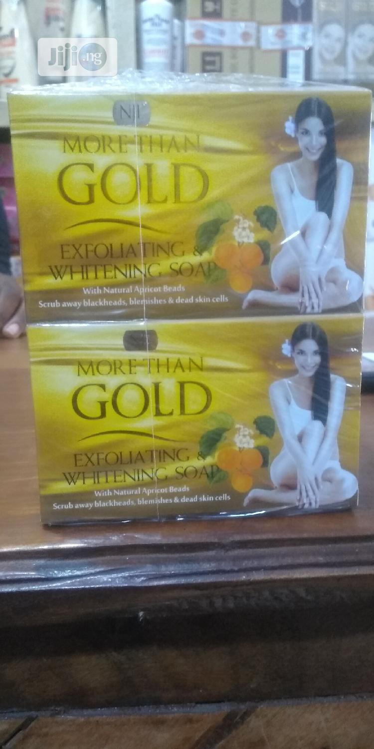 Archive: More Than Gold Exfoliating And Whitening Soap