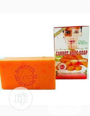 Lee Carrot Kojic Soap | Bath & Body for sale in Lagos State, Amuwo-Odofin