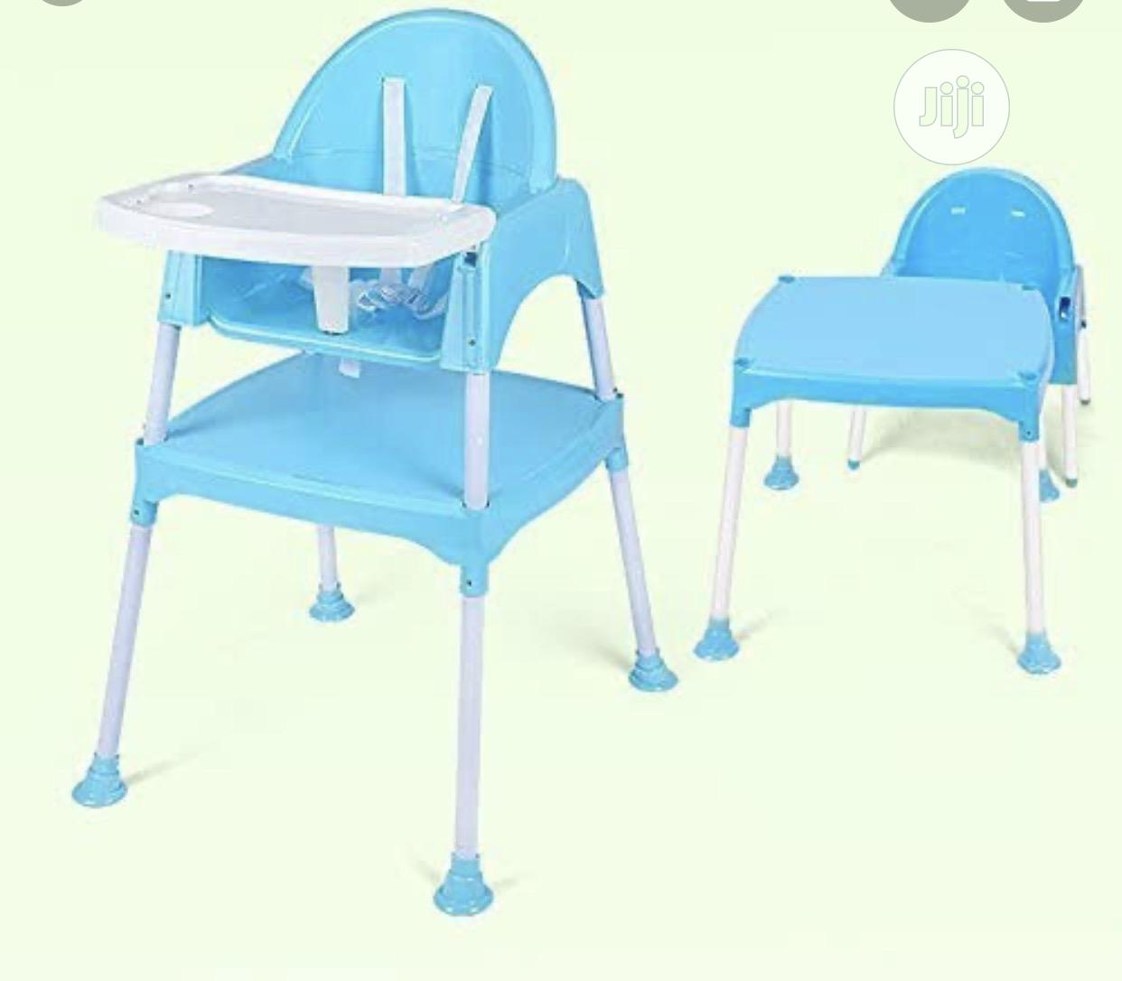 2 In 1 Baby Feeding High Chair | Children's Furniture for sale in Oshodi, Lagos State, Nigeria