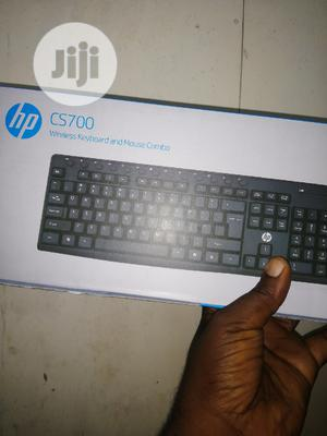 Hp CS700 Wireless Keyboard And Mouse | Computer Accessories  for sale in Lagos State, Ikeja