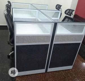 Original Office 4 Man Workstation Table With Mobile Drawers | Furniture for sale in Abuja (FCT) State, Wuse 2