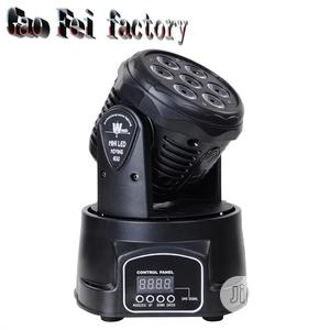 Mini LED DMX Gobo Moving Head Spot Light Club DJ Stage Light   Stage Lighting & Effects for sale in Lagos State, Lekki